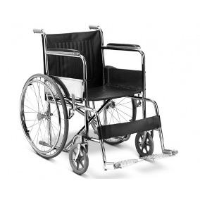 silla de ruedas con reposabrazo y pies desmontable GM-103