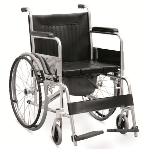 silla de ruedas con inodoro GM-105