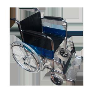 silla de ruedas con llanta sólida GM-100