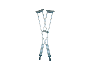 muletas de aluminio